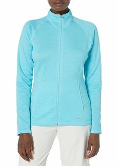 Cutter & Buck Annika Women's Light Weight Full Zip Particle Grid Back Long Sleeve Jacket  XXL