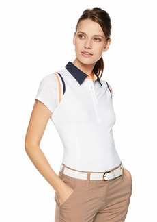 Cutter & Buck Annika Women's Moisture Wicking Drytec UPF 50+ Short Sleeve Polo Shirt