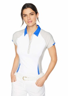 Cutter & Buck Annika Women's Moisture Wicking Drytec UPF 50+ Short Sleeve Polo Shirt  XSmall