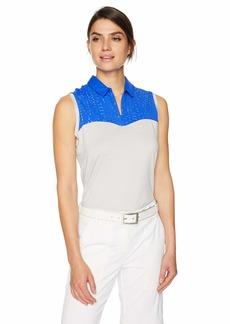 Cutter & Buck Annika Women's Moisture Wicking Drytec UPF 50+ Sleeveless Polo Shirt