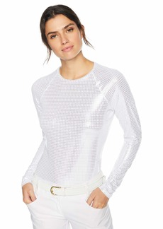 Cutter & Buck Annika Women's Stretch UPF 50+ Metallic Long Sleeve Solar Guard Shirt