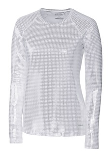 Cutter & Buck Annika Women's Stretch UPF 50+ Metallic Long Sleeve Solar Guard Shirt  XXLarge