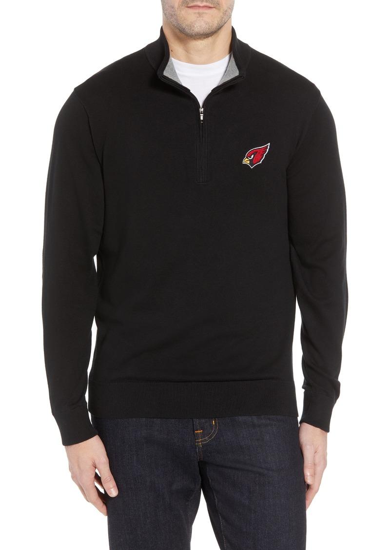 Cutter   Buck Arizona Cardinals - Lakemont Regular Fit Quarter Zip Sweater f1f5ac7d7