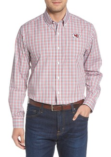 Cutter & Buck Atlanta Falcons - Gilman Regular Fit Plaid Sport Shirt