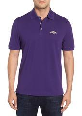 Cutter & Buck Baltimore Ravens - Advantage Regular Fit DryTec Polo