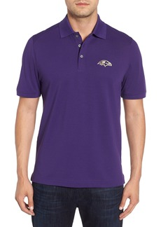 Cutter & Buck Baltimore Ravens - Advantage Regular Fit DryTec Polo
