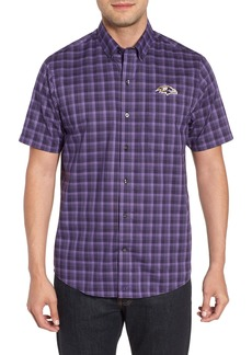Cutter & Buck Baltimore Ravens - Fremont Regular Fit Check Sport Shirt
