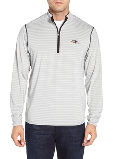 Cutter & Buck Baltimore Ravens - Meridian Half Zip Pullover