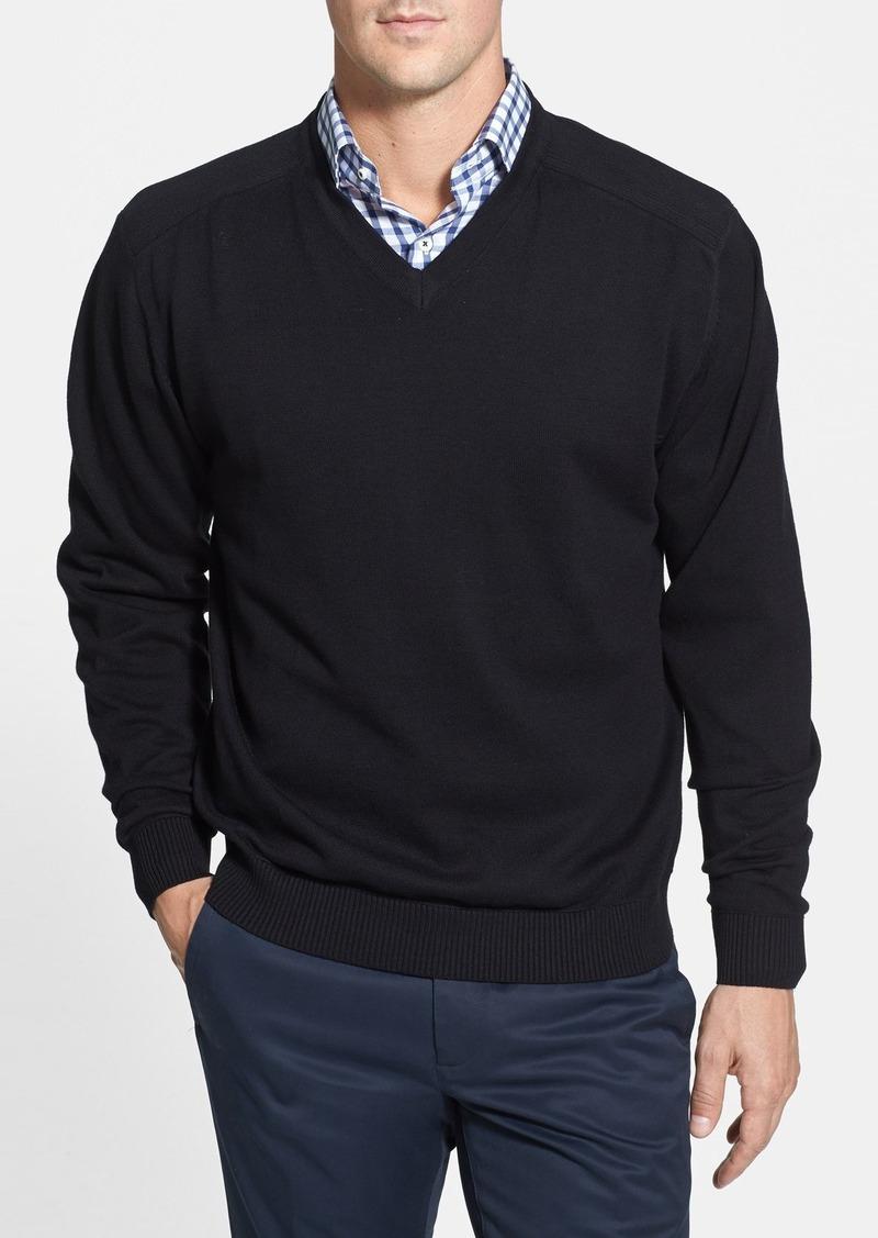 Cutter & Buck 'Broadview' V-Neck Sweater (Big & Tall)