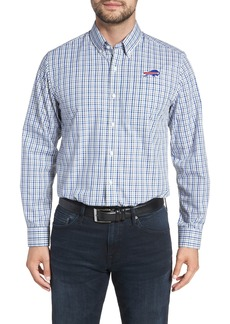 Cutter & Buck Buffalo Bills - Gilman Regular Fit Plaid Sport Shirt