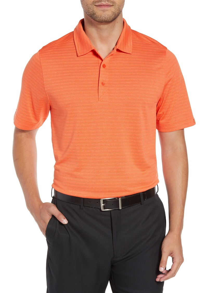 Cutter & Buck Cascade Melange Striped Polo