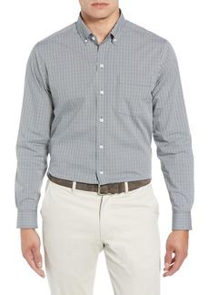 Cutter & Buck Casey Regular Fit Check Sport Shirt
