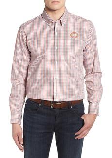 Cutter & Buck Chicago Bears - Gilman Regular Fit Plaid Sport Shirt