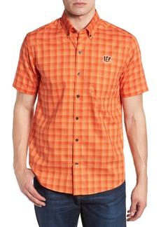Cutter & Buck Cincinnati Bengals - Fremont Regular Fit Check Sport Shirt