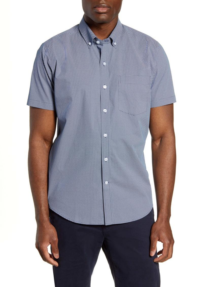Cutter & Buck Classic Fit Short Sleeve Button-Down Sport Shirt