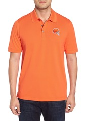 Cutter & Buck Cleveland Browns - Advantage Regular Fit DryTec Polo