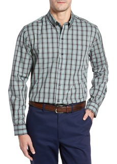 Cutter & Buck Davis Non-Iron Plaid Sport Shirt