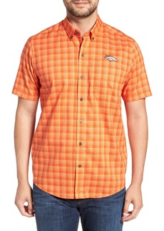 Cutter & Buck Denver Broncos - Fremont Regular Fit Check Sport Shirt