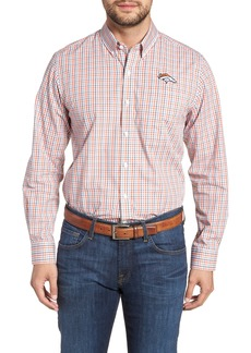 Cutter & Buck Denver Broncos - Gilman Regular Fit Plaid Sport Shirt