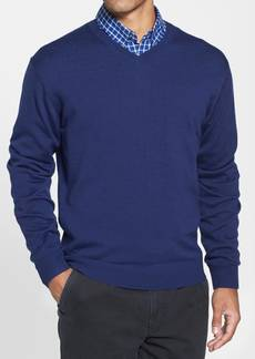 Cutter & Buck Douglas V-Neck Sweater (Big & Tall)