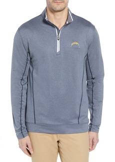 Cutter & Buck Endurance Los Angeles Chargers Regular Fit Pullover