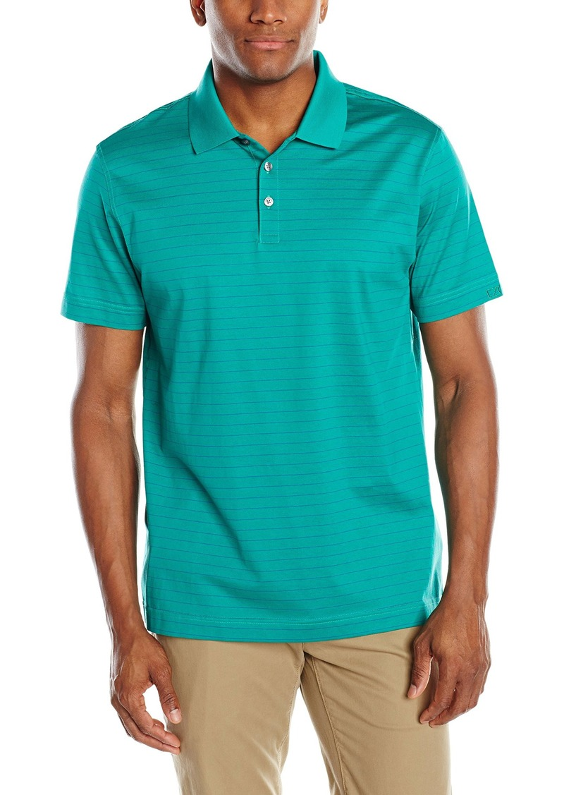 Cutter buck cutter buck en 39 s spencer ercerized stripe for Cutter buck polo shirt size chart