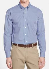 Cutter & Buck Epic Easy Care Classic Fit Wrinkle Free Gingham Sport Shirt