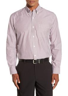 Cutter & Buck Epic Easy Care Classic Fit Mini Bengal Stripe Shirt