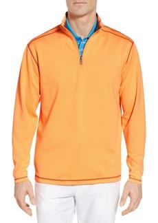 Cutter & Buck Evergreen Classic Fit DryTec Reversible Half Zip Pullover