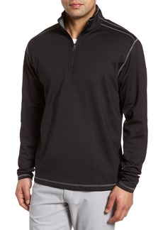 Cutter & Buck Evergreen Reversible Quarter Zip Pullover