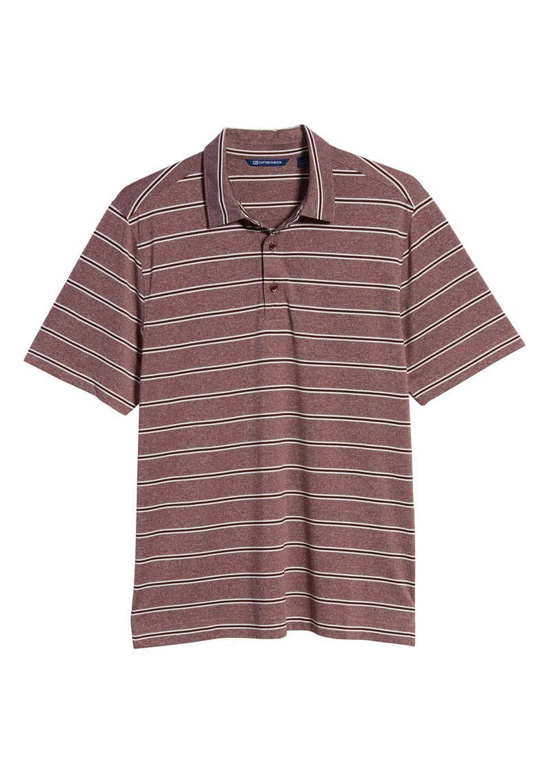 Cutter & Buck Forge Stripe Jersey Polo