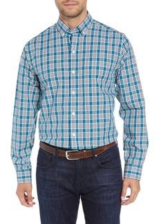 Cutter & Buck Harris Regular Fit Non-Iron Plaid Sport Shirt