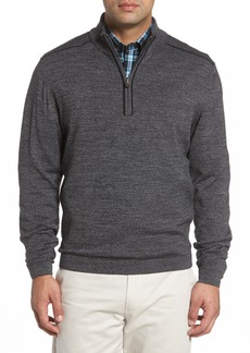 Cutter & Buck Henry Quarter-Zip Pullover Sweater