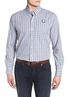 Cutter & Buck Indianapolis Colts - Gilman Regular Fit Plaid Sport Shirt