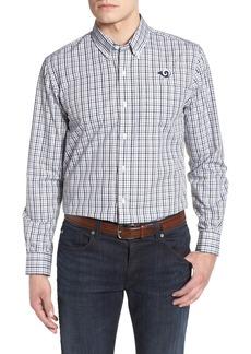 Cutter & Buck Los Angeles Rams - Gilman Regular Fit Plaid Sport Shirt
