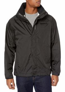 Cutter & Buck Men's 100% Waterproof Hooded Spark Systems Trailhead Jacket
