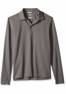 Cutter & Buck Men's 35+UPF Long Sleeve Advantage Polo Shirt
