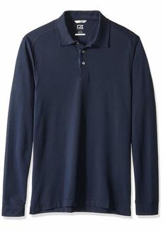 Cutter & Buck Men's 35+UPF Long Sleeve Advantage Polo Shirt