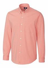Cutter & Buck Men's Anchor Gingham Shirt  M