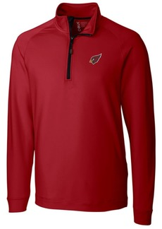 Cutter & Buck Men's Arizona Cardinals Jackson Half-Zip Pullover