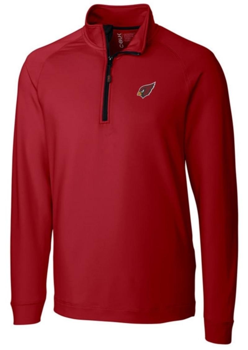 Cutter & Buck Men's Arizona Cardinals Jackson Half-Zip Pullover