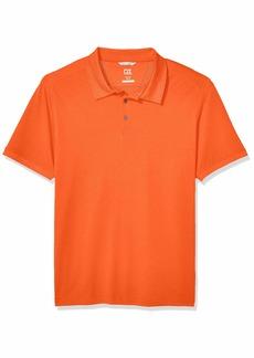 Cutter & Buck Men's Big and Tall Big & Tall 35+UPF Short Sleeve Advantage Polo Shirt  2XLT