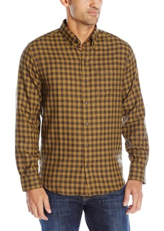 Cutter & Buck Men's Big and Tall Long Sleeve Crown Check