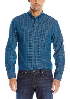 Cutter & Buck Men's Big and Tall Long Sleeve Wrinkle Free Willard Check