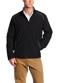 Cutter & Buck Men's Big-Tall Cb Weathertec Beacon Full Zip Jacket  3XT