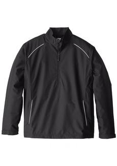 Cutter & Buck Men's Big-Tall Cb Weathertec Beacon Half Zip Jacket  4XB