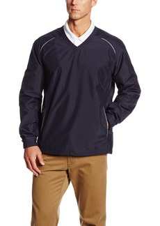 Cutter & Buck Men's Big-Tall Cb Weathertec Beacon V-Neck Jacket  3XB