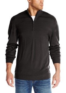 Cutter & Buck Men's Big-Tall Douglas Half Zip Sweater  4X/Tall