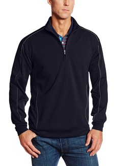 Cutter & Buck Men's Big-Tall Drytec Edge Half Zip Sweatshirt  5X/Big