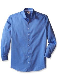 Cutter & Buck Men's Big-Tall Epic Easy Care Mini Herringbone Shirt  X-Large